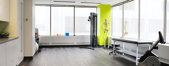 Cornerstone physiotherapy clinic tour in Toronto