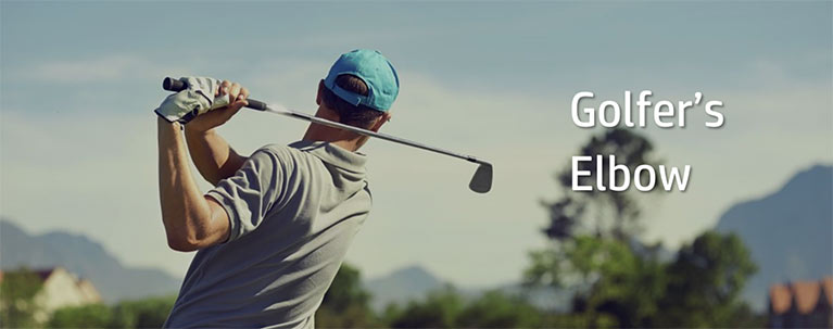 what is, golfer's elbow, medial epicondylitis, elbow pain, elbow injury, physiotherapy, toronto