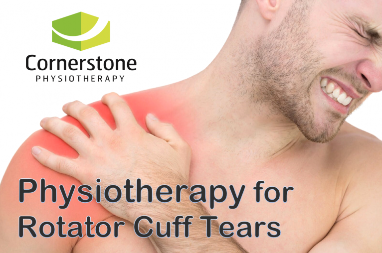 physiotherapy, rotator cuff tear, shoulder pain, shoulder tendon tear