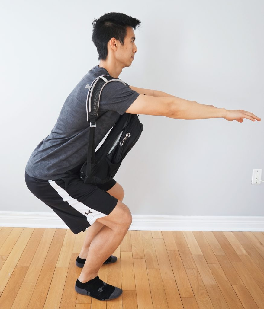 Backpack - Squats