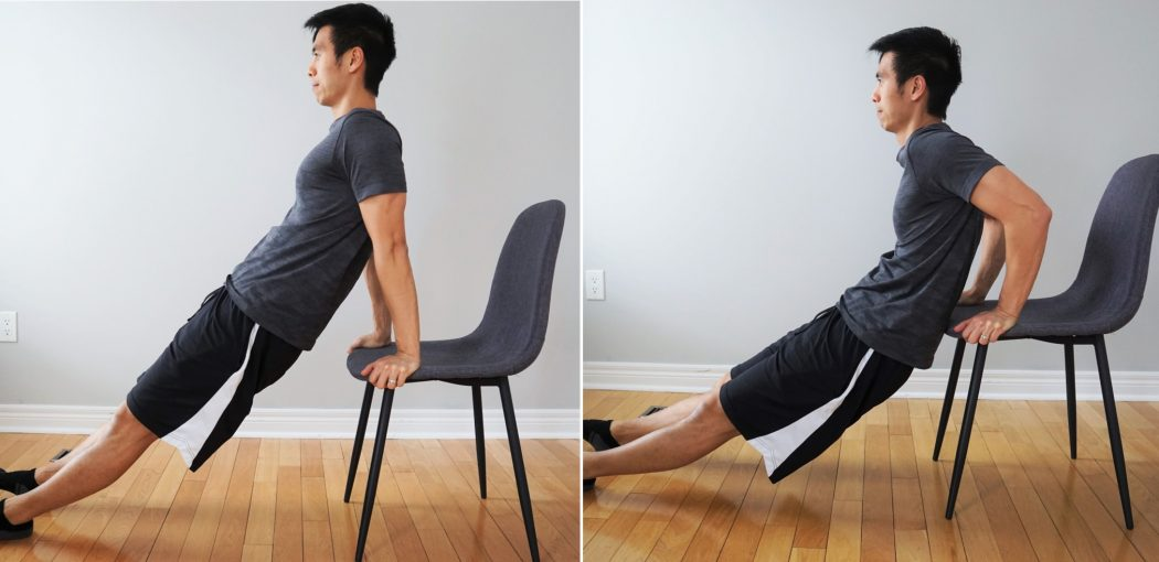 DIPS with a chair